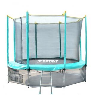 OptiFit Батут OptiFit Like Green 14FT-455140