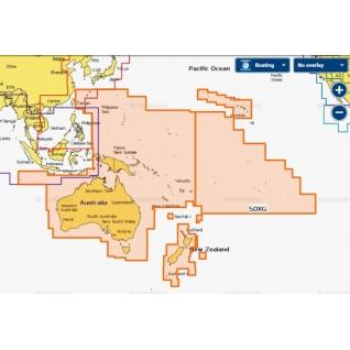 Карта Navionics+ Австралия, Новая Зеландия и Тихий океан (50XG)-5943386
