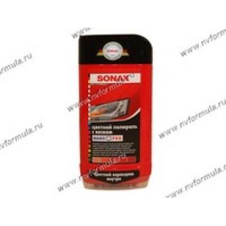 Полироль кузова SONAX 500мл с воском + карандаш красная-417952