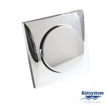 Batsystem Выключатель одноклавишный Batsystem Berker BE5890-1C 60 x 60 мм хромированный