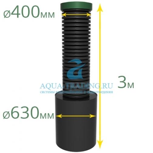 Коллекторный колодец Alta Plast Granata / 630/400, Н=3 м.-5739331