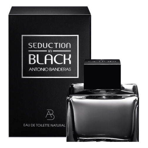 Antonio Banderas Seduction In Black туалетная вода, 50 мл.-6453693