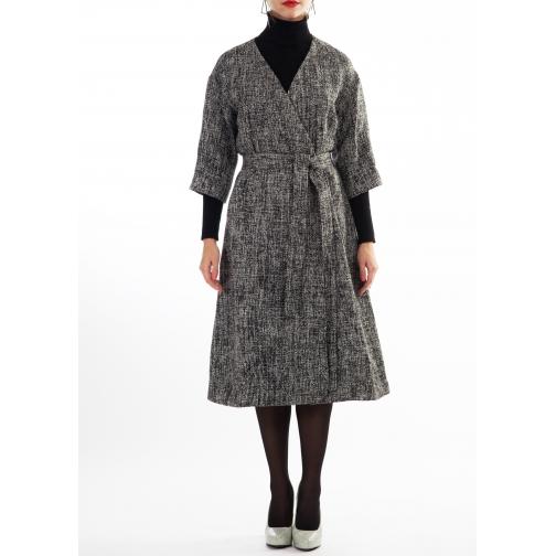 женская одежда FluffyAnn Moscow Платье-пальто FluffyAnn Артикул FA018-5927681