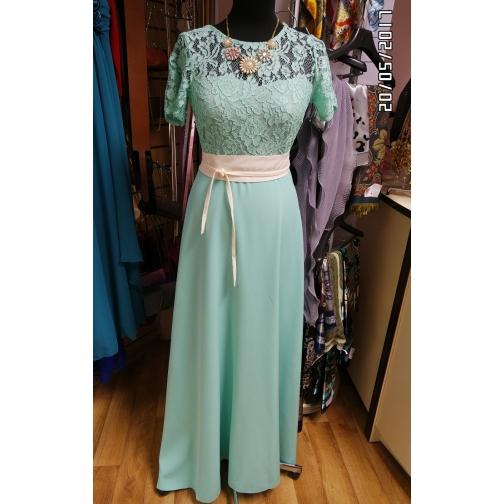 Длинное платье 42 размер-6679638