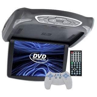 """Автомобильный потолочный монитор 13.3"""" со встроенным DVD Intro JS-1340 DVD Intro-5763577"""
