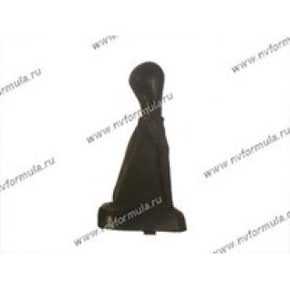 Ручка КПП 2113-15 кожа+чехол-431222