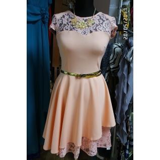 Нарядное платье 44 размер-6679642