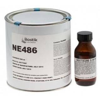 Клей двухкомпонентный Bostik NE486 (смолы) + D40 (отвердитель)