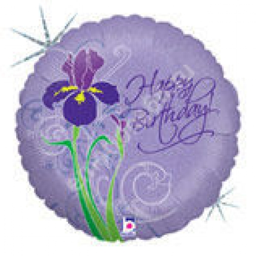 Ирис С днём рождения Голография-873601
