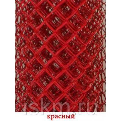Сетка Рабица цветная Красный 213845