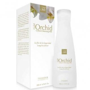 Tegoder Gold Orchid Cotton Cleansing Milk - Очищающее молочко для лица-4943034