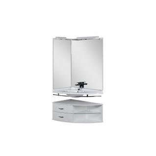 Комплект мебели угловой для ванной Aquanet Корнер 00161242-11491458