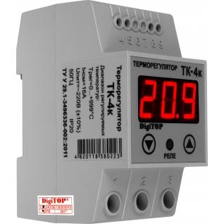 Терморегулятор DigiTOP ТК-4к (крепление на DIN-рейку)-6775758