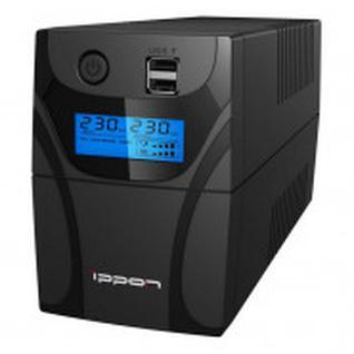 ИБП Ippon Back Power Pro II 600 600VA 360Вт IEC(4) черный