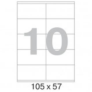 Этикетки самоклеящиеся Office Label 105х57 мм / 10 шт. на листе А4 (100л.