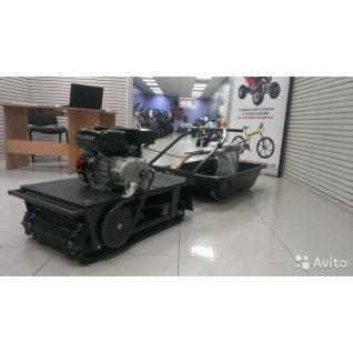 Мотобуксировщик Снежок Р500+сани+сиденье
