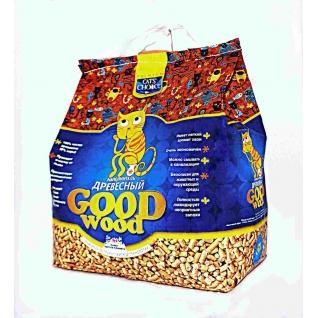 Cat`s Choice Cat`s Choice Goodwood наполнитель древесный 5 кг