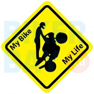 Наклейка (12х12) My Life (винил)-37494097