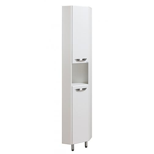 Шкаф-пенал Runo 30 угловой, белый-6794523
