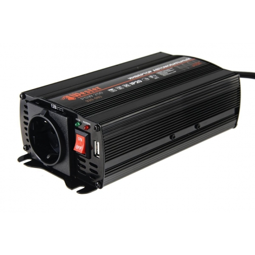 Преобразователь инверторный а/м WESTER PSW250 12-220В+USB; 250Вт чистая ...-1210177