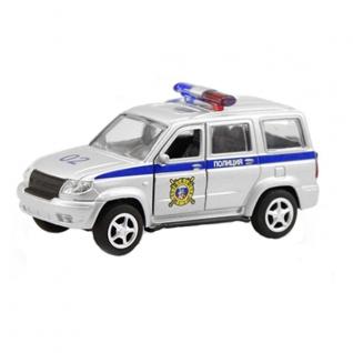 """Инерционная модель """"УАЗ Патриот 3163"""" - Полиция, 1:50 Play Smart-37716467"""