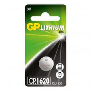 Батарейка GP Lithium CR1620 1 шт/бл