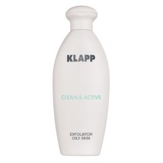 Klapp Exfoliator Oil Skin (CLEAN ACTIVE) - Эксфолиатор для жирной кожи-4942244