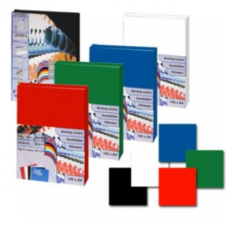 Обложки картон-глянец ProfiOffice, А4, белый-399012