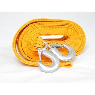 Трос буксировочный тканая лента 6м 3,5т с крюками Forsage-6002640