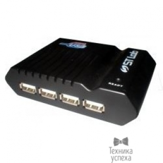 STLab ST-Lab U181 RTL Hub 4ports, USB 2.0, W/Power-5800413
