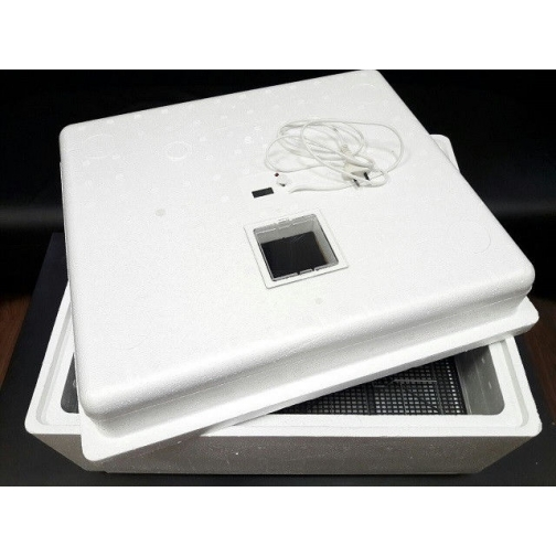 Инкубатор бытовой №12: 90 яиц, ручной, 220В, цифровой-2063175