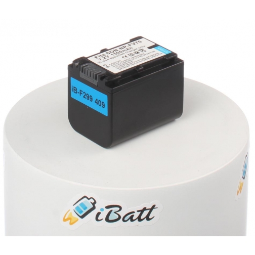 Аккумуляторная батарея iBatt для фотокамеры Sony DCR-SX34E. Артикул iB-F299 iBatt-6803937