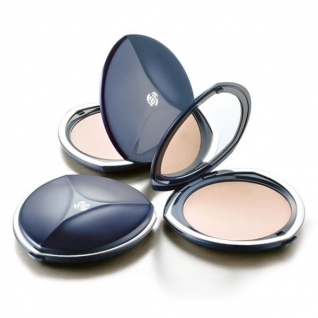 Chambor Silver Shadow Compact Powder компактная пудра + запасной блок, цвет: RR1-IVOIRE