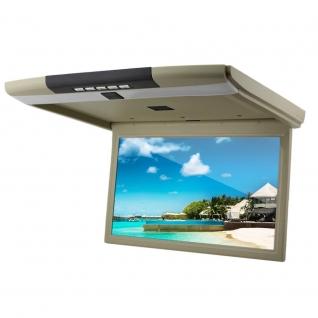 """Автомобильный потолочный монитор 15.6"""" со встроенным Full HD медиаплеером ERGO ER15S (бежевый) Ergo-5767897"""