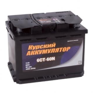 Автомобильный аккумулятор Курский Аккумулятор Курский 60L 450А прямая полярность 60 А/ч (242x175x190)