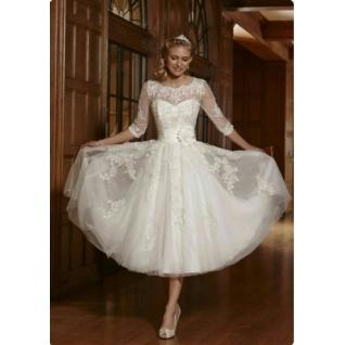 Платье свадебное Короткие свадебные платья⇨АлисаК-661966