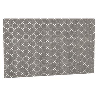 Декоративный экран Квартэк Техно 600*600 (металлик)-6769007
