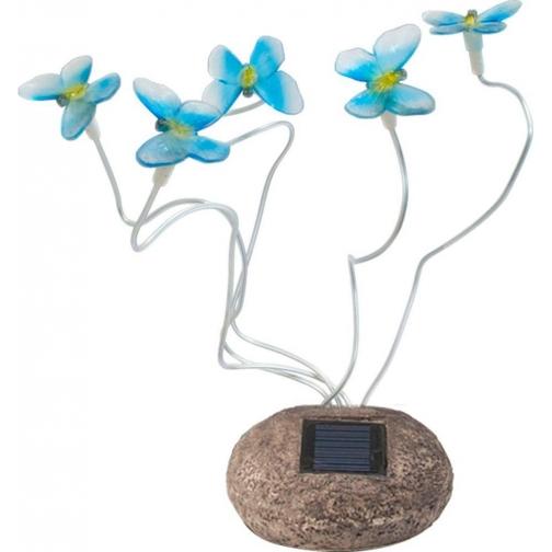 Светильник садово-парковый Feron 712B-CD Бабочки синие-8692005