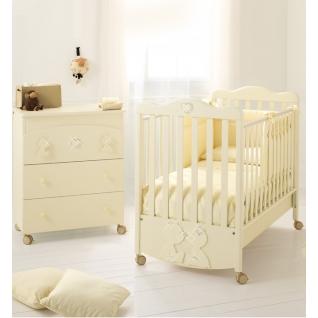 Комплект Baby Expert Комплект Primo Amore  (комод+кровать) крем