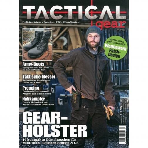 Made in Germany Журнал Tactical Gear 02/2018-9239643