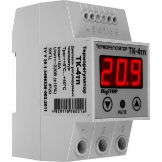 Терморегулятор DigiTOP ТК-4тп (крепление на DIN-рейку)-6775759
