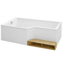 Отдельно стоящая ванна Jacob Delafon Bain-Douche Neo 160x90 E6D000L-00