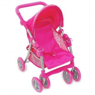 "Прогулочная коляска для кукол ""Премиум"", розовая 1 TOY-37704113"