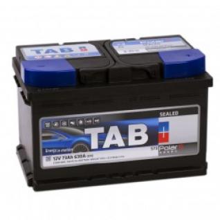 Автомобильный аккумулятор TAB TAB POLAR S 73R (низкий) 630А обратная полярность 73 А/ч (279x175x175)