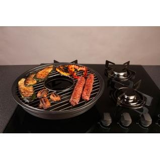 Домашняя барбекюшница - сковорода Чудо Гриль - газ Китай-37456117