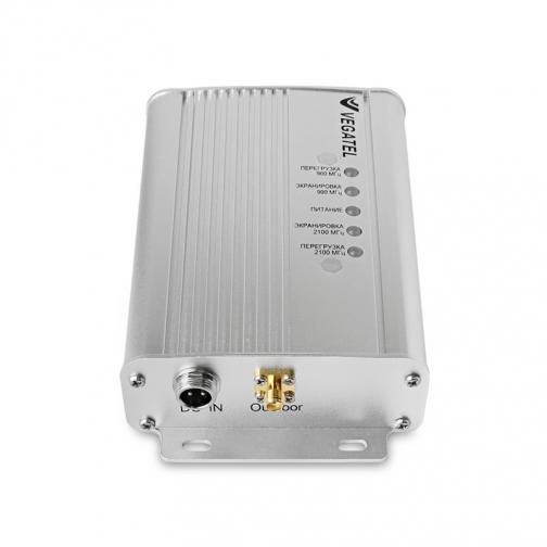 Усилитель сотовой связи и интернета в автомобиле VEGATEL AV1-900E/3G-kit VEGATEL-9251912