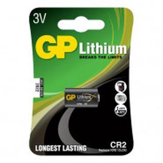 Батарейка GP CR2 3В литиевая - 1 шт/бл
