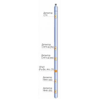 Комплексный спектрометрический прибор радиоактивного каротажа КСПРК-Ш-90-8917237