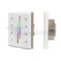 Arlight Панель Sens SR-2830C1-AC-RF-IN White (220V,RGB+DIM,4зоны)