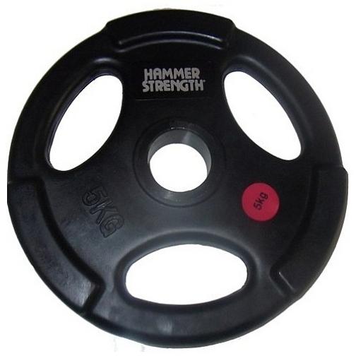 Hammer Диск олимпийский черный HAMMER STRENGTH HS-5 454758